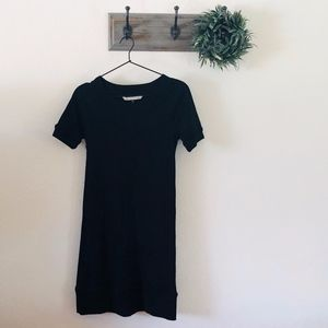 Diane Von Furstenberg Black Mini Sweater Dress 0